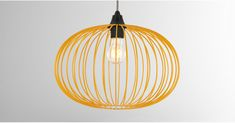 Eden Pendant Shade, Mustard | MADE.com Lamp Shade, Front Room, Lamp, Ceiling Lights, Light Shades, Pendant Lamp Shade, Pendant Light, Shades, Light Up