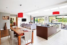 oak floor kitchen extension - Google Search