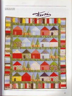 Book: Quilting from simple to complex. Discussion on LiveInternet - Russian… Colchas Quilt, Quilting, Quilt Blocks, Triangles, Table Runner And Placemats, Queen Quilt, Celtic, Patches, Album