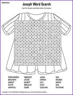 Satisfactory image with regard to joseph coat of many colors printable