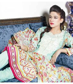 Rangrasiya Embroidered Lawn Suits Vol.3 D-1045A