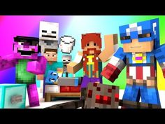 Minecraft Mini-Game : DO NOT LAUGH! (BOOTLEG AVENGERS AND DRINKING MILK!) w/ Facecam - YouTube