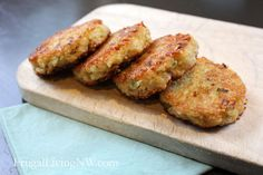 Little Quinoa Patties - this is an easily adaptable recipe and you could use gf oats to make them gluten free also