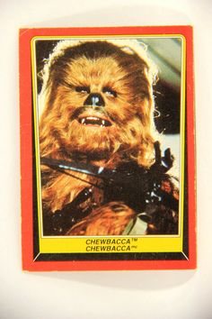 2017 Journey to Star Wars The Last Jedi Character Card #5 Chewbacca NM