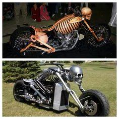 Skeleton bikes