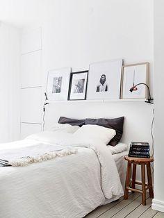 lovely white bedroom