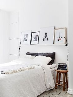lovely white bedroom