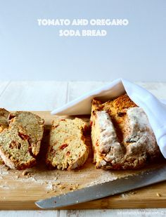 Tomato and Oregano Soda Bread