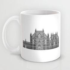 HexArchi - Portugal, Batalha, Mosteiro de Santa Maria da Vitória . Igreja e Capela do Fundador Mug by LAA-Laboratório De Arquitectura E Arte | Society6