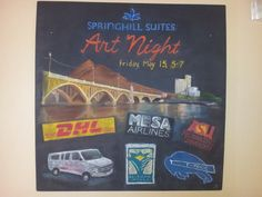 SpringHill Suites with the Mill Ave Bridge, Tempe, AZ.  Lisa Bernal Brethour, 2015