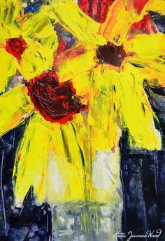 Katherine Jeanne Wood - 9x6 Flower Series No 200 01