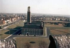 Swinton Town Hall before Salford Civic Centre was built. Salford, My Past, Working Class, Town Hall, Where The Heart Is, Old Pictures, Statue Of Liberty, Manchester, Centre