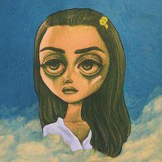 • Sad Girl • Lana Del Rey #LDR #art by Peter Curtis