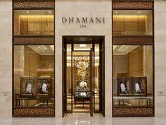 Exqusite Projeto Idéia Bulgari pavilhão por não de uma quantidade Arquitetos em Abu Dhabi Dubai inspirações de design de interiores dhamani entrada da loja