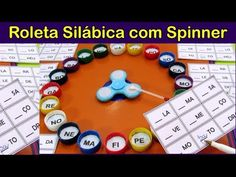 Roleta Silábica com Spinner - YouTube Spanish Teaching Resources, Class Activities, Dyslexia, Bingo, Special Education, Fundraising, Homeschool, Math, Projects
