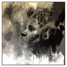 charcoal + pastel prelim by molz66, via Flickr