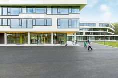 Ergolding Secondary School, Ergolding, 2013 - Behnisch Architekten