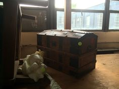 Treasure chest in the theater storeroom....