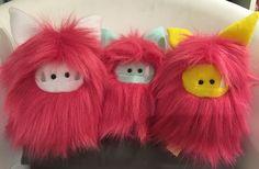 Pretty pink Fuzzlings!