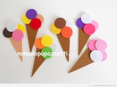 El taller mgico Piruletas de goma eva CRAFTS Pinterest