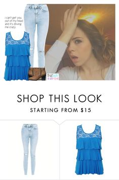 """OOTD//Emma"" by arendela-summers ❤ liked on Polyvore featuring New Look and H&M"