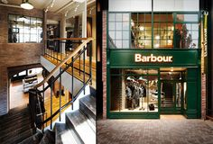 Barbour flagship store, Tokyo fashion