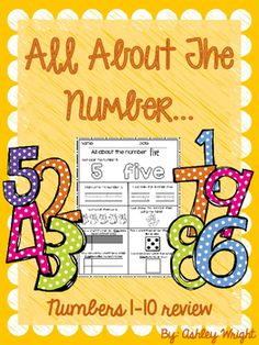 This packet contains worksheets that will help your student learn and review the numbers 1-10. This is a perfect addition to your math stations/centers or even great as homework! The activities your student will complete are:Writing the numberSpelling the numberColoring the number (numerical and spelled out)Coloring the amount of objectsPracticing showing the number using their handsFilling in a ten frame with that numberVisualizing that number on dice and drawing the replica