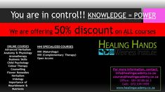 KNOWLEDGE = POWER  *** 50% OFF *** on ALL courses