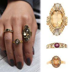 USA 3PCS/Set Antique Vintage Women Gold Midi Above Knuckle Ring Jewerly Wedding