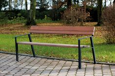 modern street & site furnishings - products - park benches - aviela