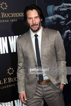 Actor Keanu Reeves attends the premiere of Summit Entertainment's 'John Wick Chapter Two' at ArcLight Hollywood on January 30 2017 in Hollywood. Keanu Reeves Life, Keanu Reeves John Wick, Keanu Charles Reeves, Arch Motorcycle Company, Keanu Reaves, Blockbuster Film, In Hollywood, Hollywood California, About Time Movie