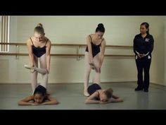 Back Stretching for Ballet Dancers : Ballet Lessons - YouTube