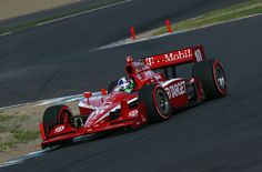 Dario Franchitti of Great Britain drives the #10 Target Chip Ganassi Racing Dallara Honda during practice for the Indy Japan 300 The Final on the road course at the Twin Ring Motegi on September 17, 2011 in Motegi, Japan.