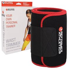 Waist Trimmer Ab Belt for Faster Weight Loss Without Phone Pocket 8 x 44 Inches * To view further for this item, visit the image link.