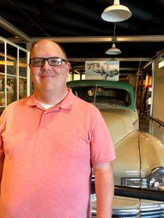 I'm usually the one taking the pictures or sharing photos from others, but if you've ever wondered what I look like, ¯\_(ツ)_/¯ here I am. At the Wisconsin Historical Museum, in front of a 1948 Nash Ambassador Scene Photo, Wisconsin, Photos, Pictures, Museum, Classic, Mens Tops, Classical Music, Resim