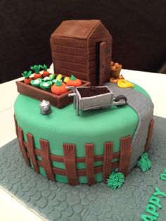 Round Allotment Cake Ideas