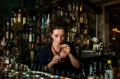 #StreetPortraitOfClaudiaAmato #ClaudiaAmato  #Paris75011 #Grazie #ItalianRestaurant #Host #NiceGirl #Drink #FreshJuice #CamilleGabarra © Camille Gabarra