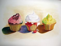 This week I entered new territory in my teaching career. For the first time since student teaching, I worked with high school age students. Wayne Thiebaud Cakes, Wayne Thiebaud Paintings, Cupcake Kunst, Cupcake Art, Lisa Milroy, Pop Art Food, Food Painting, Piece Of Cakes, Paint Party