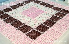Love this rag baby quilt Seems easy