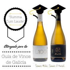 Vinos calificados como Summa Cum Laude por la Guía de Vinos de Galicia! #valminorebano #riasbaixas #albarino #loureiro #wine