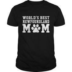 Get yours beautiful World's Best Newfoundland Mom Best Gift Shirts & Hoodies.  #gift, #idea, #photo, #image, #hoodie, #shirt, #christmas