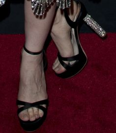 jessica chastain in sophia webster belle sandals