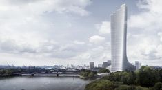 Gallery of David Chipperfield Architects Selected to Design Tallest Tower in Hamburg - 1