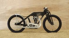 Sideburn Ben  tipped me on this beautiful toy.   The Dunecraft balance bike is based on an early 1920s Isle of Man TT  winning racing motorb...