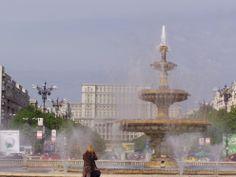 Bukarest: Brunnen