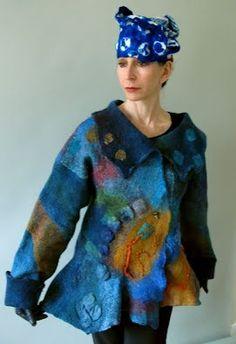 Elynn Bernstein art to wear jacket