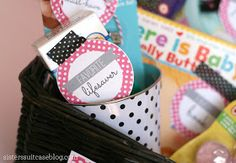 My Sister's Suitcase: Baby Gift + Printable Tags {Favorite Things}