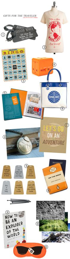 Bubby and Bean ::: Living Creatively: My Favorite Gifts Ideas for the Traveler