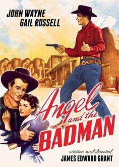 """"""" Você parece ter ficado assustado! """"    """" Angel and the Badman """" é o primeiro…"""