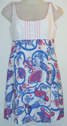 Lilly Pulitzer Multi Blayne Scales & Tails Dress. Free shipping and guaranteed authenticity on Lilly Pulitzer Multi Blayne Scales & Tails Dress at Tradesy. Blayne colorblock dress from Lilly Pulitzer in 100...